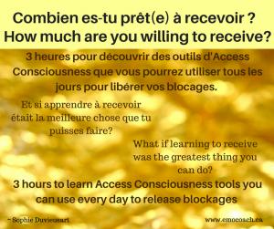 Access Recevoir Receive